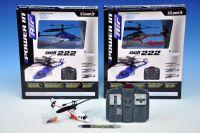 Vrtulník RC/IC 16cm na baterie na dálkové ovládání asst 3 barvy v krabici
