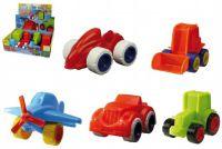 Mini Roller dopravní prostředky plast - 8 druhů