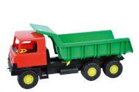 Auto Tatra 815 korba zelená kabina červená plast 75cm