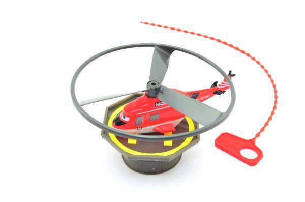 Vystřelovací vrtulník Planes plast 12cm asst 2 barvy v krabici