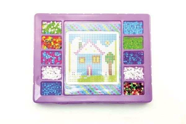 Zažehlovací mozaika 900ks plast v krabici 35x27x4cm