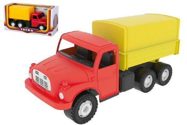 Dino Auto Tatra 148 plast 30cm valník s plachtou v krabici