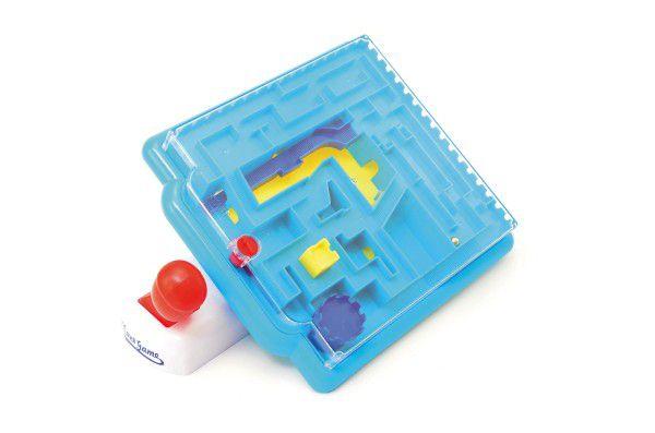 Hlavolam bludiště s ovládáním plast 21x26cm v krabici