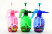 Pumpa na vodní bomby + bomby 100ks plast 30cm - 3 barvy