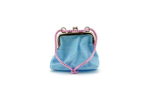 Dívčí peněženka/kabelka s třpytkami 10x9cm asst 2 barvy v krabičce