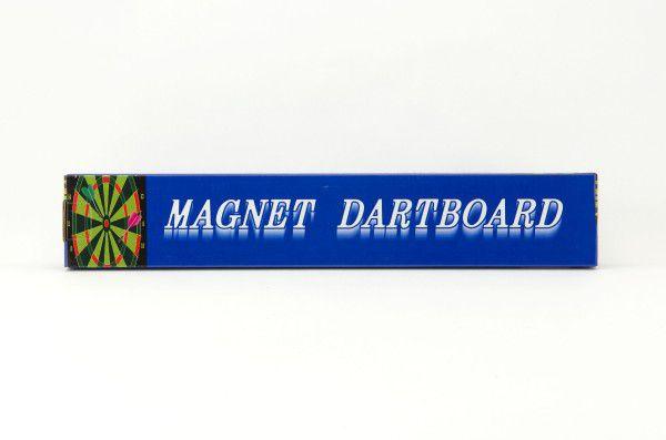 Terč magnetický 30x37cm se šipkami 4ks v krabici
