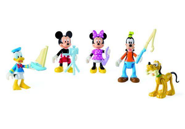 Mickey Mouse Clubhouse figurky kloubové plast 8cm 5ks s doplňky v krabičce
