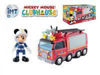 Mickey Mouse Clubhouse Hasiči plast 24cm na baterie se světlem a zvukem + kloubová figurka v krabici