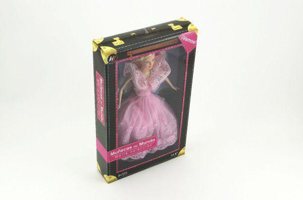 Panenka kloubová plast 29cm asst 2 druhy v krabici