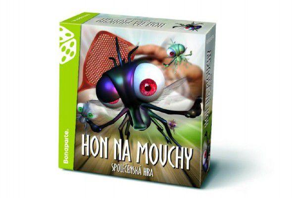 Hon na mouchy společenská hra v krabici 26x26x7cm