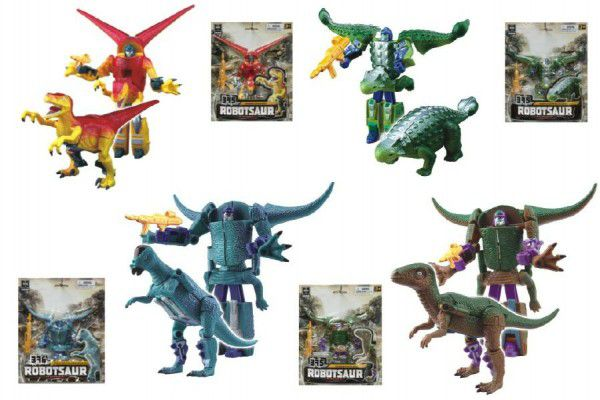 Teddies Transformer dinosaurus plast 16cm