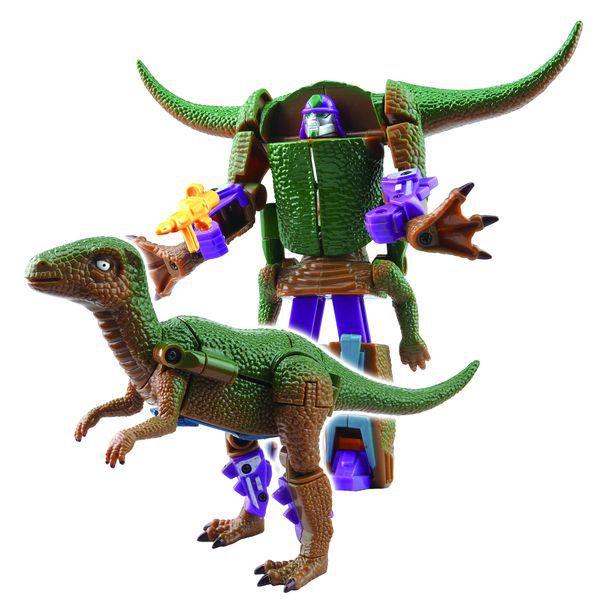 Transformer dinosaurus plast 16cm asst 4 druhy na kartě
