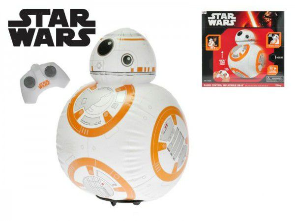Star Wars RC Jumbo BB8 nafukovací 43cm plná funkce na baterie se zvukem v krabici 36x38x9cm