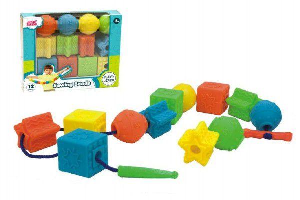 Provlékačka tvary gumové 12ks v krabici 18m+