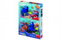 Puzzle Dory mezi korály 2x66 dílků 32,3x22cm v krabici 23x33x3,5cm