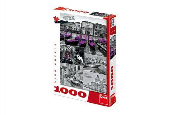 Dino Benátky koláž 1000 dílků
