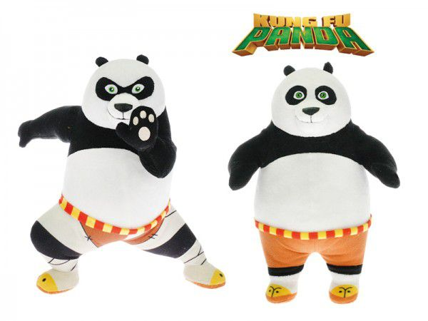 Kung Fu Panda 3 plyš 20cm asst 2 druhy 0m+