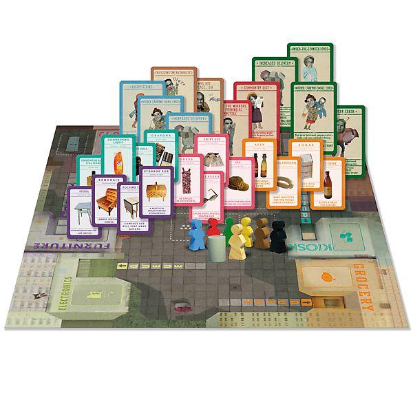 Fronta - Čekání ve frontě společenská hra v krabici 36x25x6cm