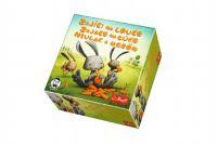 Zajíci na louce společenská hra v krabici 20x20x6cm