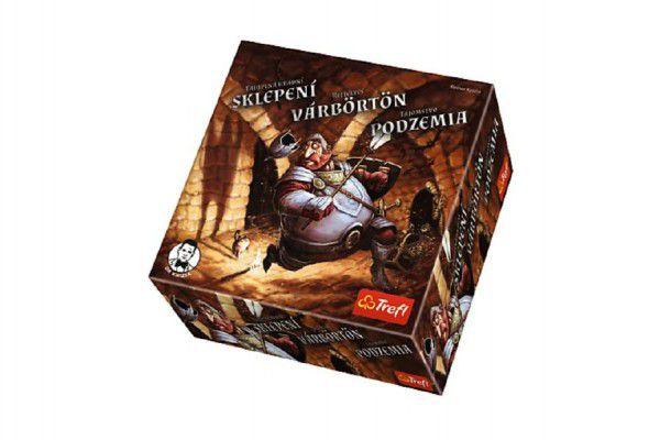 Tajuplná hradní sklepení společenská hra v krabici 20x20x6cm