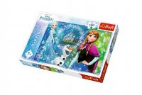 Puzzle Ledové království/Frozen 200 dílků 48x34cm v krabici 33x23x4cm