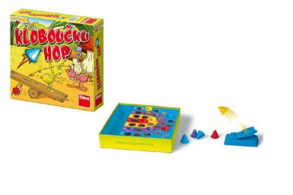 Kloboučku hop! společenská hra v krabici 23x23x5cm