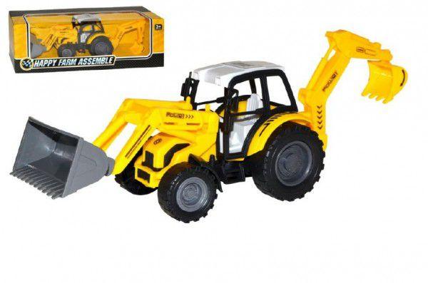 Wiky Traktor nakladač bagr 29cm na setrvačník