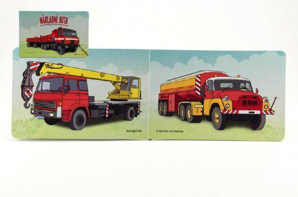 Nákladní auta - Miro Stacho - ilustrácie