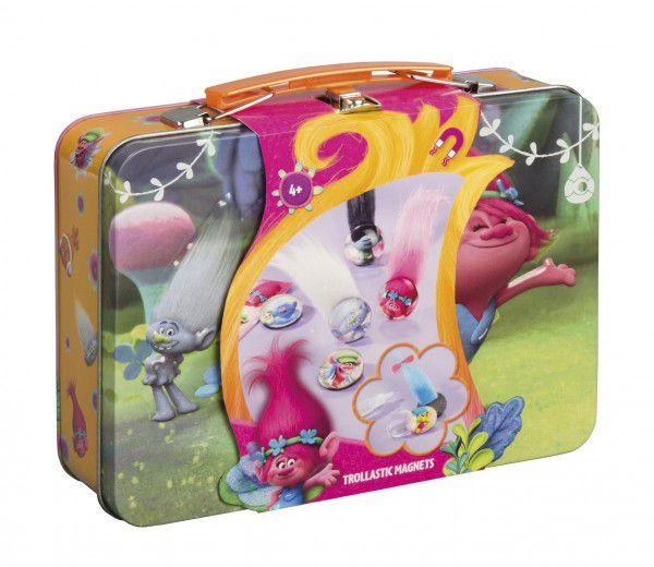 Kufřík s magnety Trollové plech 18x13x5,5cm