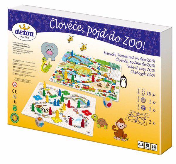 Člověče, pojď do ZOO! společenská hra v krabici 33,5x23x3,5cm
