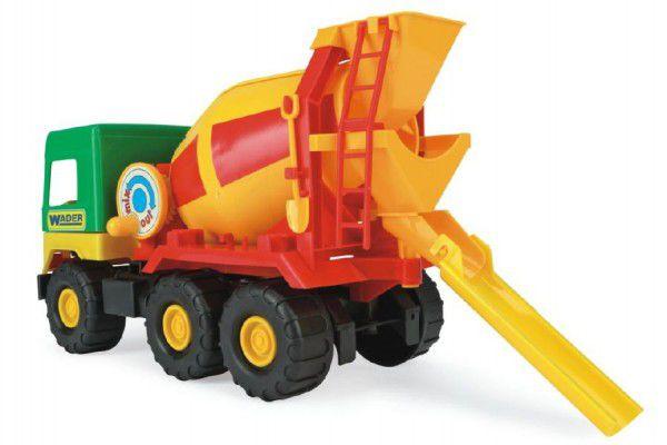 Auto middle Truck domíchávač plast 39cm Wader v sáčku