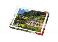Puzzle Jezero Černého draka, Čína 500 dílků 48x34cm v krabici 39,5x26,5x4,5cm