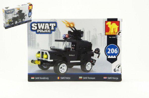 Dromader 23504 SWAT Policie Auto 206ks