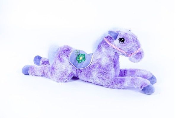 Kůň plyš 70cm asst 3 barvy 0+