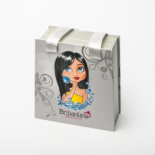 Šperkovnice Briliantina stříbrná v tašce