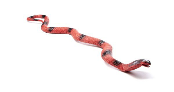 Had Kobra plast 67cm asst 3 barvy na kartě