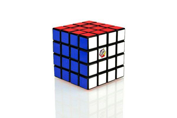 Rubikova kostka hlavolam 4x4 plast 6,5x6,5x6,5cm v krabičce