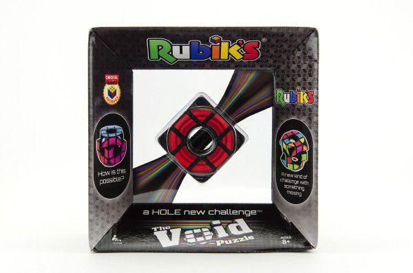 Rubikova kostka hlavolam Void plast 6x6x6cm volný střed v krabici