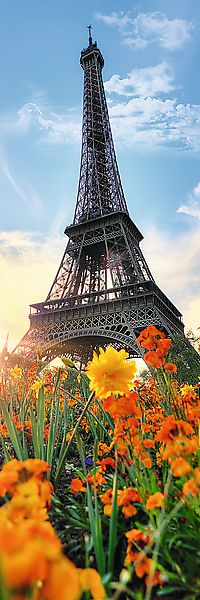 Puzzle Eiffelova věž 300 dílků 16x48cm v krabici 10x26,5x4,5cm