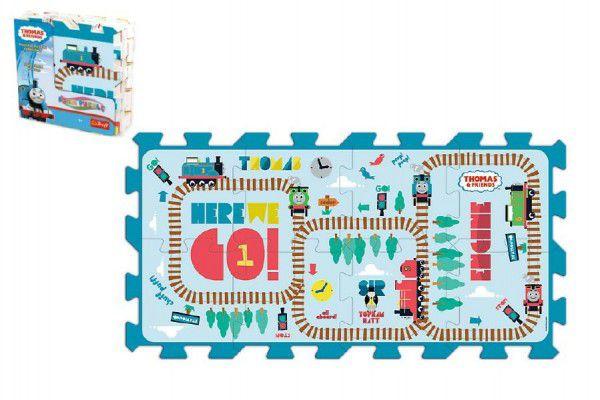 TREFL Pěnové puzzle Mašinka Tomáš 8 ks