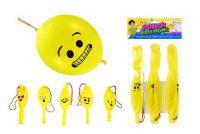 Boxovací balonky s obličejem 3ks v sáčku 15x30cm