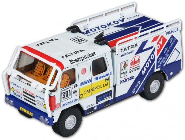 Auto Tatra 812 rallye kov 18cm 1:43 v krabičce Kovap