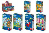 Puzzle Šmoulové 60 dílků 23,5x21,5cm - 6 druhů