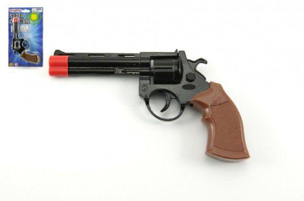Wiky Pistole kovová kapslová 19 cm
