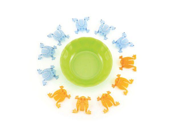 Skákající žáby 11ks plast v sáčku 14x23cm