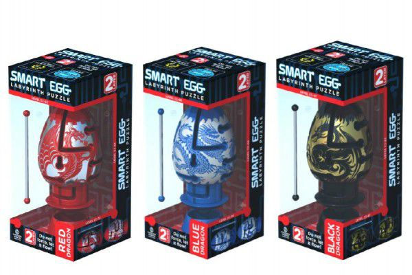 Smart Egg hlavolam bludiště Labyrint v labyrintu plast 10cm asst v krabičce