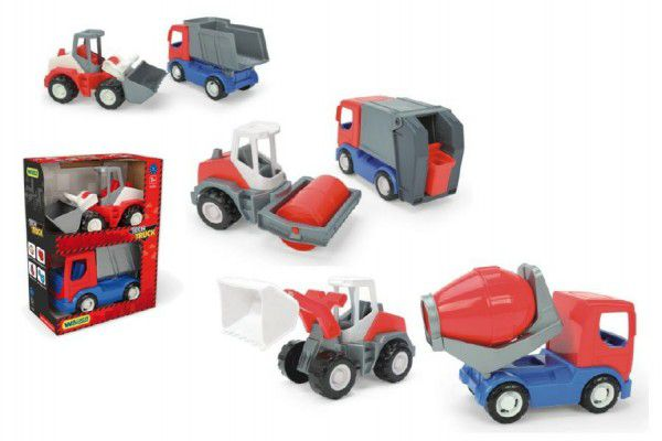 WADER Auto stavební Tech truck v plast