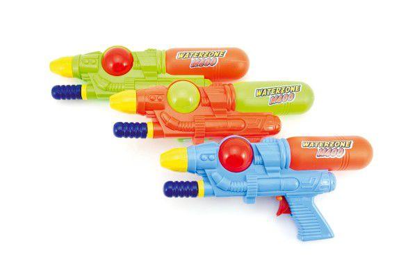 Vodní pistole 28cm plast asst 3 barvy v sáčku