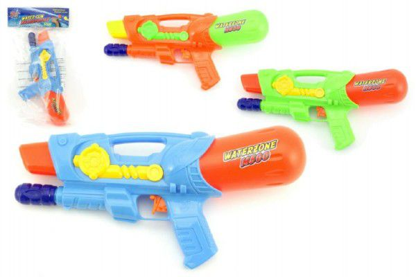 Teddies Vodní pistole 30cm plast asst 3 barvy v sáčku