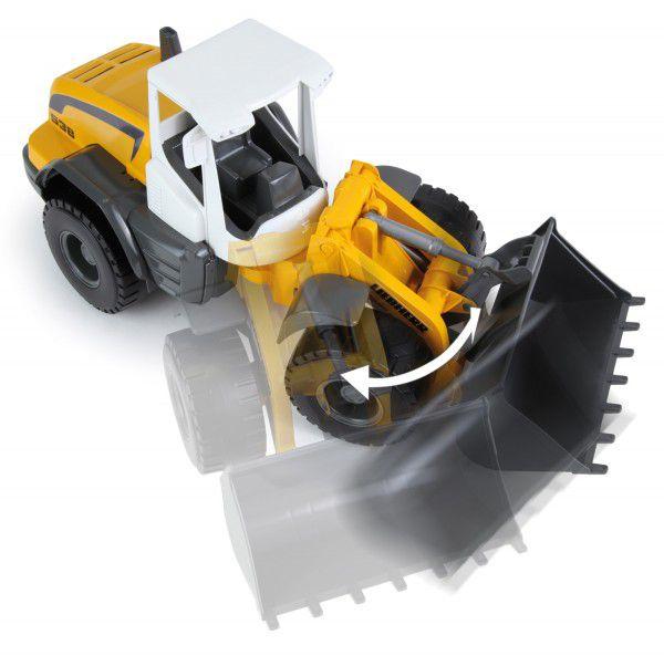 Auto Nakladač Worxx plast 49cm 1:15 v krabici Liebherr L538